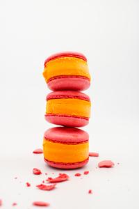 Drivu Mango Macaron Ice Cream