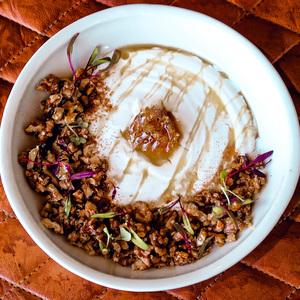 Drivu Walnut Greek Yogurt Bowl