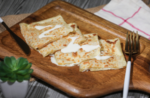 Drivu Roti with Cream Cheese
