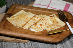 Drivu Roti with Cheddar Cheese