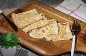Drivu Roti with Mozzarella Cheese