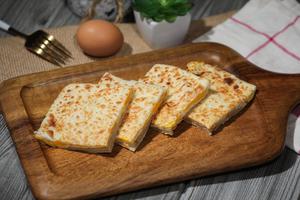Drivu Roti with Eggs