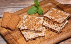 Drivu Roti with Lotus Spread & Lotus Biscuit