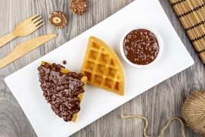 Drivu وافلز فيريرو روشيه Waffle Ferrero Rocher