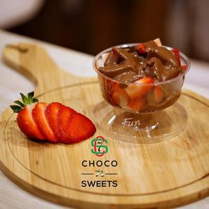 Drivu كوب الفراولة مع النوتيلا Strawberry Cup with Nutella