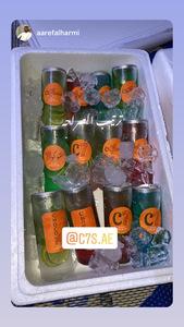 Drivu بوكس المشروبات الغازية + الموهيتو ١٢ حبة Soft Drinks + Mojito Box (12 pieces)