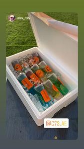 Drivu بوكس المشروبات الغازية ١٢ حبة Soft Drinks Box (12 pieces)