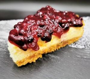 Drivu Blueberry Marmalade Cheesecake