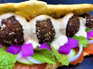 Drivu Authentic Falafel الفلافل الأصلية