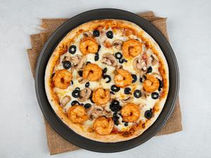 Drivu Shrimp Supreme Pizza