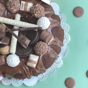 Drivu Chocolate Volcano Cake