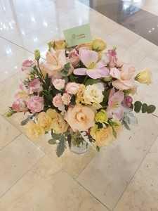 Drivu Beautiful Exotic Vase Arrangement