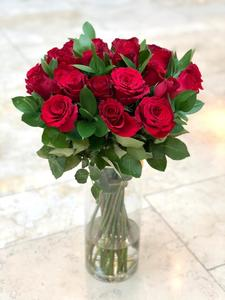 Drivu Red Roses Vase