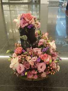 Drivu Elegant Jewelry Fresh Flowers