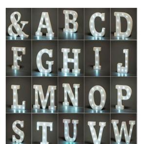Drivu Wood Letters