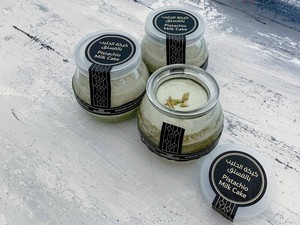 Drivu Pistachio Milk Cake Jar