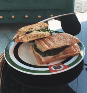 Drivu Turkey and cheese Panini