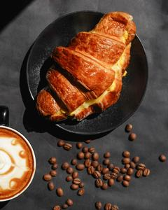 Drivu Croissant Scrambled Egg Sandwich