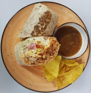 Drivu Burrito chicken tinga