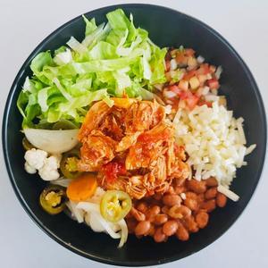 Drivu Taco bowl tinga