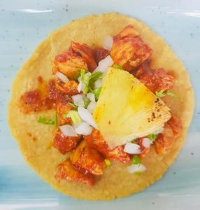 Drivu El pastor chicken taco