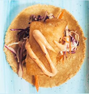 Drivu Fried fish taco