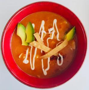 Drivu Azteca tortilla soup
