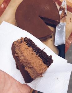 Drivu Triple Chocolate Mousse Cake