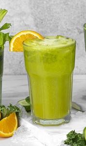 Drivu Kale, Pear & Cucumber Punch