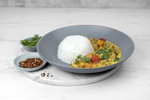 Drivu Pumpkin & Chickpea Coconut Curry