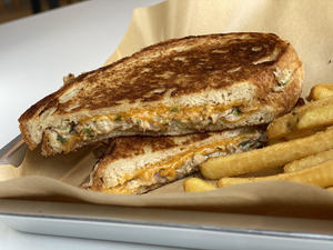 Drivu Tuna Melt Sandwich