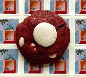 Drivu Red Velvet Cookie (1 piece)