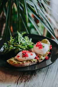 Drivu Avocado and Eggs