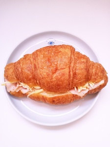 Drivu Croissant Turkey & Cheese