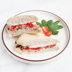Drivu Chicken Mozzarella Cheetos Sandwich