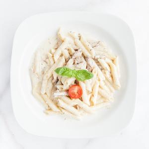Drivu Chicken Penne White Sauce