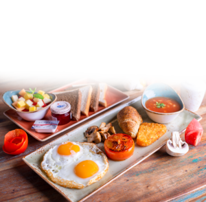 Drivu English Single Breakfast