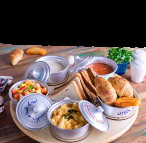 Drivu English Breakfast Sharing