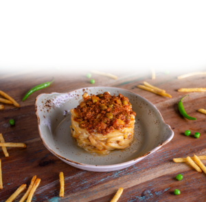 Drivu French Fries with Cheese & Keema