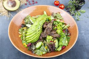 Drivu  Beef Avocado (N)