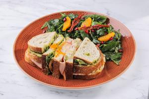 Drivu Clubhouse Sandwich