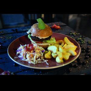 Drivu BLACKCOFFEE's Signature Burger
