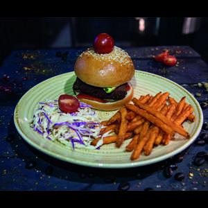 Drivu Veggie Burger (V)