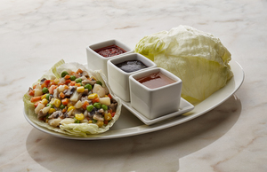 Drivu Lettuce Wraps with Vegetables