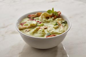Drivu Thai Green Curry Prawns