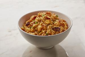 Drivu Mixed Schezwan Fried Rice (Chicken & Prawn)