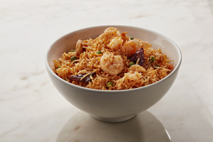 Drivu Schezwan Prawn Fried Rice