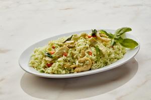 Drivu Chicken Thai Green Curry Flavored Jasmine Fried Rice