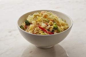 Drivu Prawn Singapore Noodles