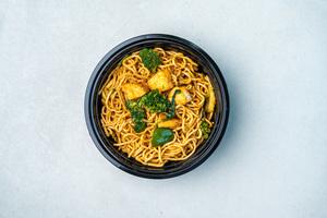 Drivu Sea Bass Chilli Basil Noodles